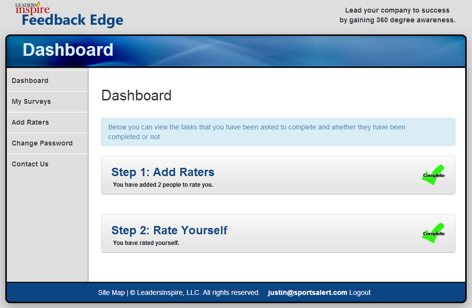 Feedback Edge Dashboard
